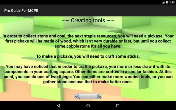 Crafting Latest Guide For MCPE apk screenshot