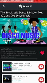 Disco Music Videos & Dance Radio Stations for Android - APK