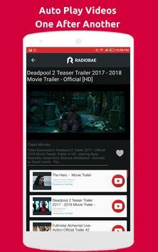 Movie Trailer Videos + Radio apk screenshot