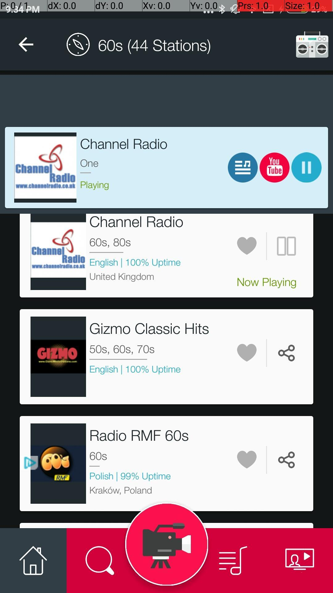 60s Music Videos & 60s Music Radio Stations for Android