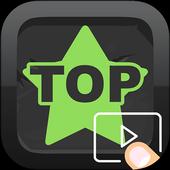 Top 10 Videos + Top Radio icon