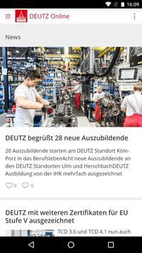 DEUTZ Online poster