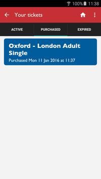 Oxford Tube Mobile Ticket apk screenshot