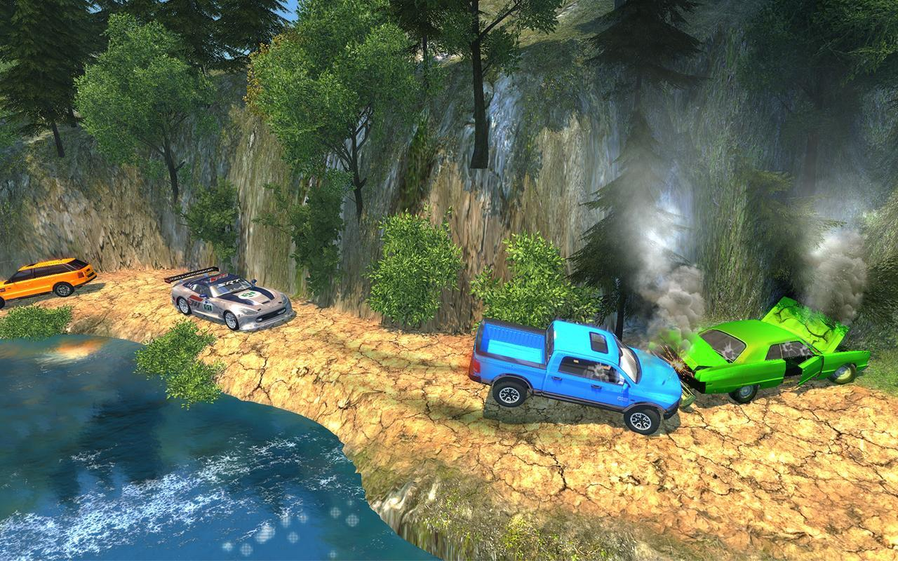 Offroad Car Crash Accident Simulator: Beam Engine for Android - APK ...