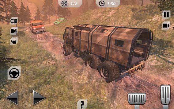 Off-Road Trucker Mountain Drive screenshot 1