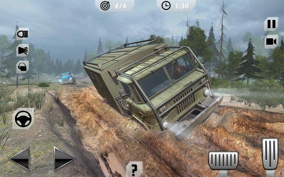 Off-Road Trucker Mountain Drive screenshot 2