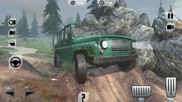 Off-Road Trucker Mountain Drive screenshot 4