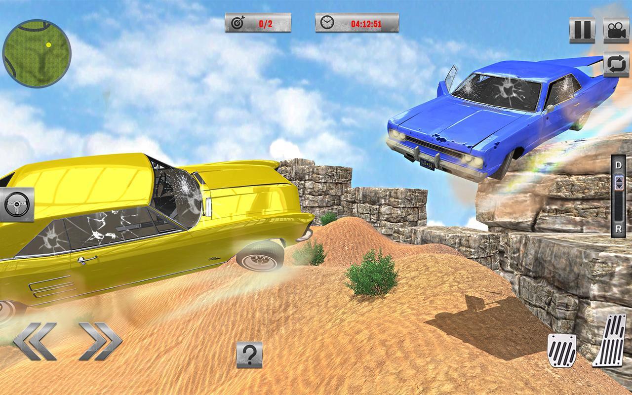 Car Crash Simulator & Beam Crash Stunt Racing SG For