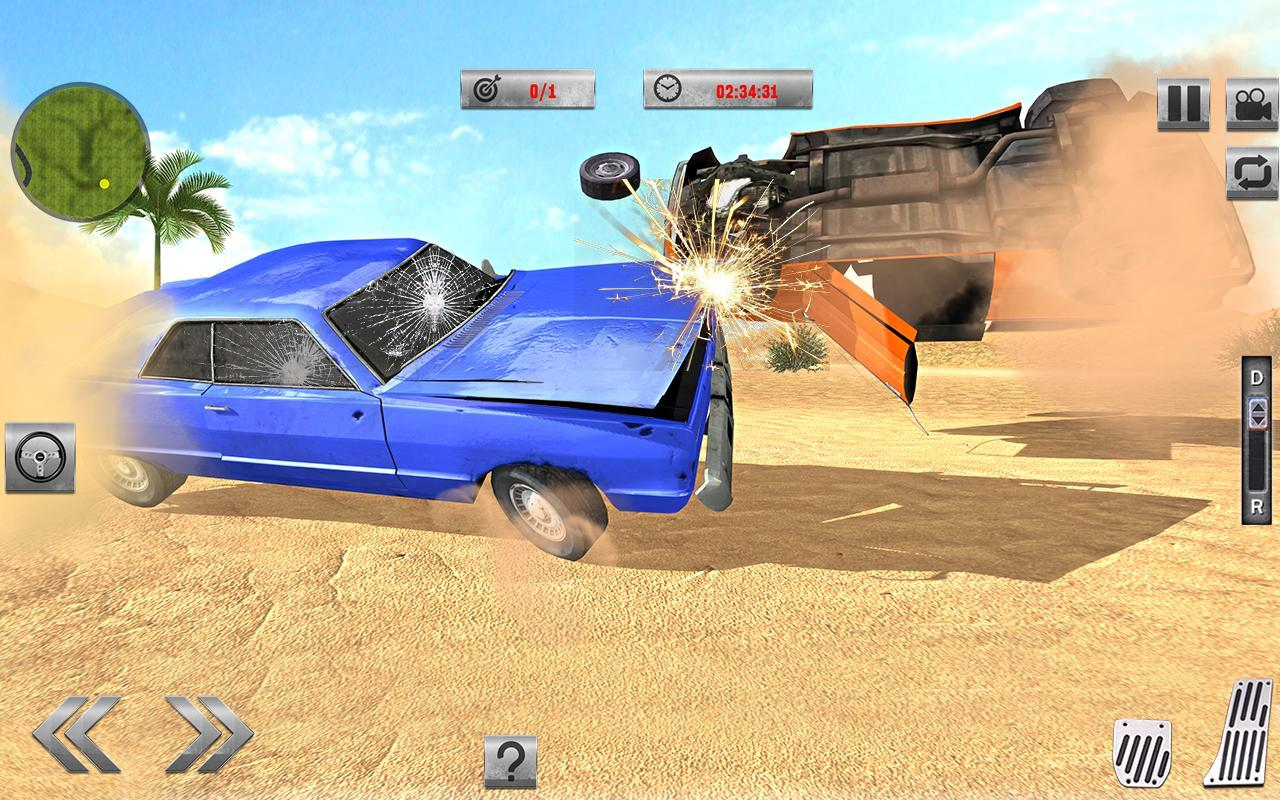 Car Crash Simulator Beam Crash Stunt Racing Sg For Android Apk