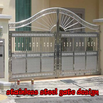 Stainless Steel Gate Design Poster