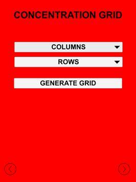 Concentration Grid screenshot 18