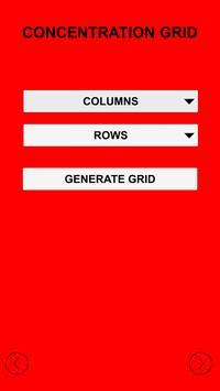 Concentration Grid screenshot 2