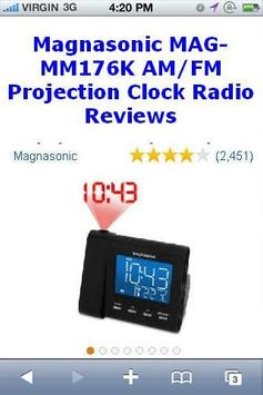 Projection Clock Radio Reviews poster