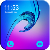 Lock Screen-Glaxy lock(Incoming Call Security) icon