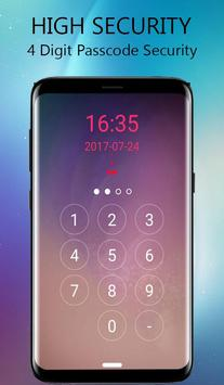 Lock Screen-Glaxy lock(Incoming Call Security) poster