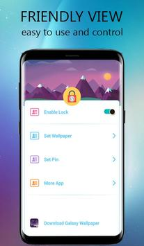 Lock Screen-Glaxy lock(Incoming Call Security) apk screenshot