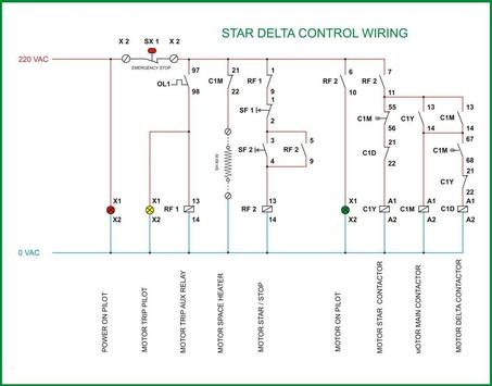 Star Delta Starter Control Diagram Electrical for Android ...