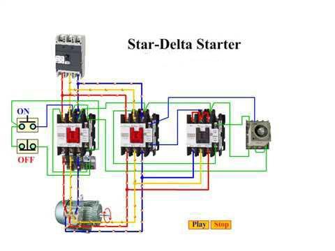 Star Delta Starter Control Diagram Electrical for Android ... on