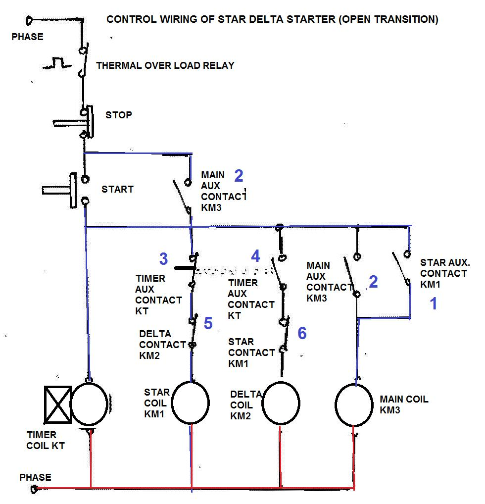 wiring diagram star delta screenshot 2