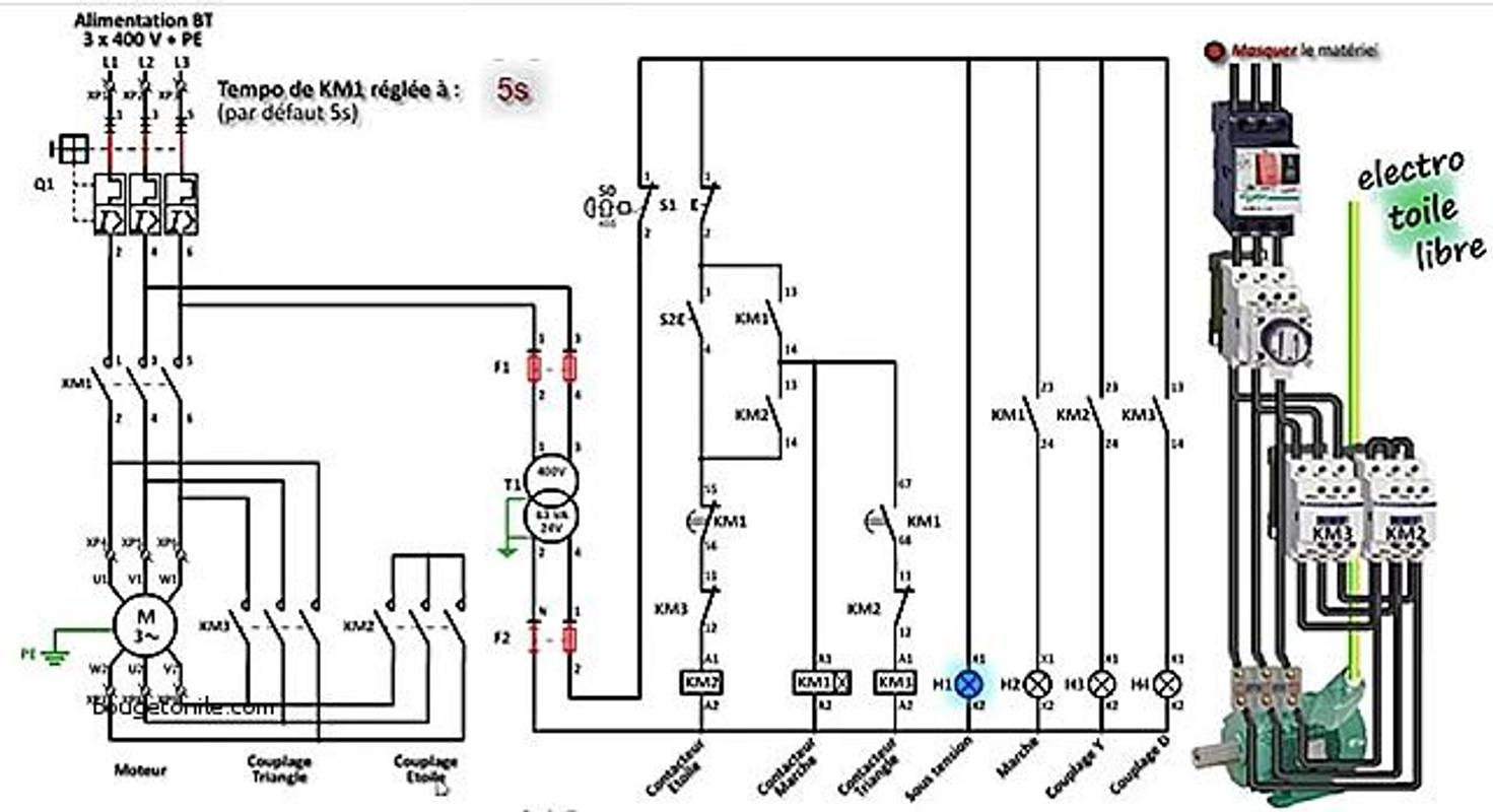 ... Star Delta Wiring Diagram screenshot 5