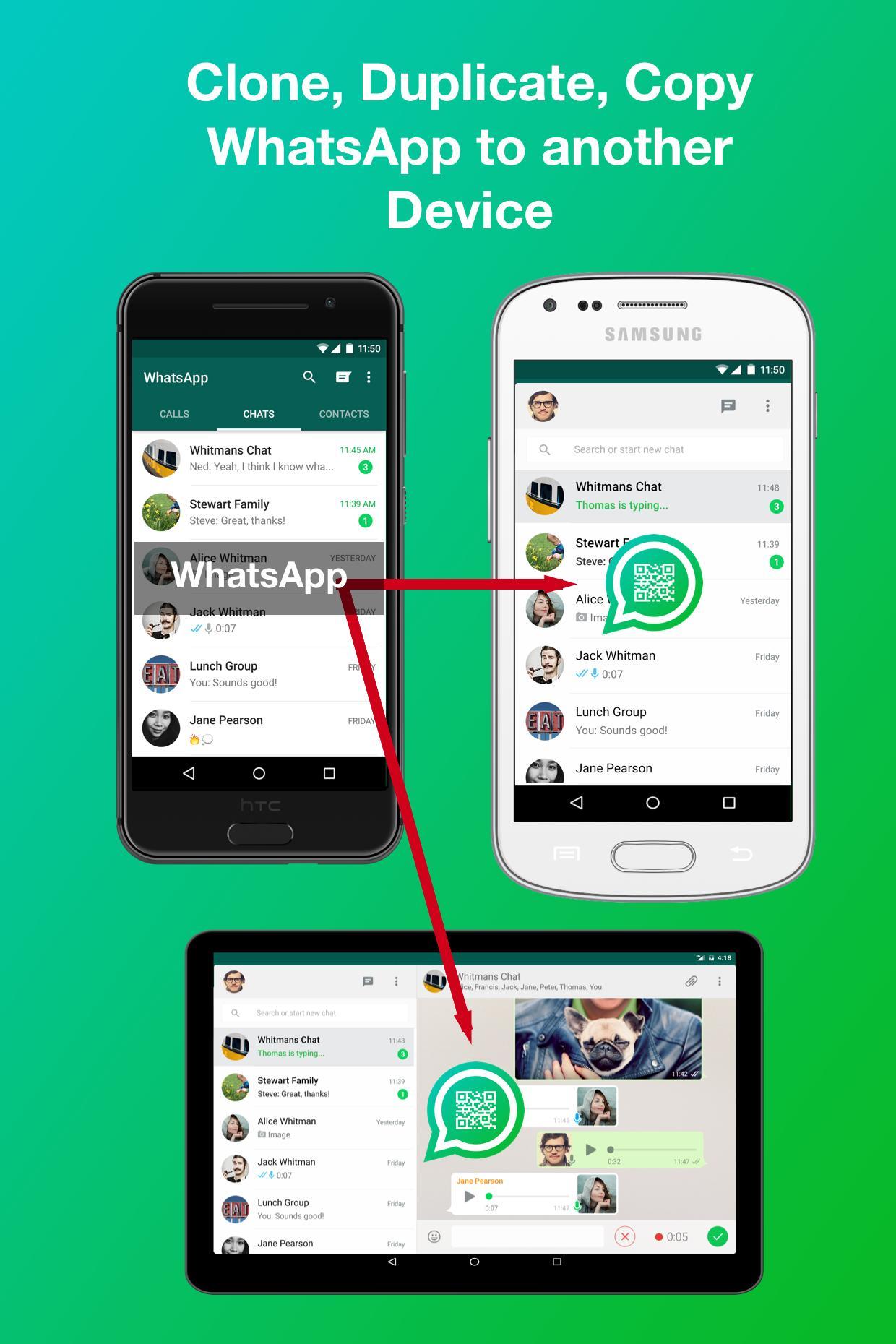 WhatsWeb for WA - Clone WhatsApp Account for Android - APK