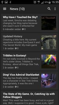 All news about Star Trek apk screenshot