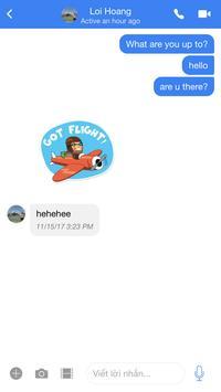 Messenger Ionic screenshot 3