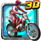 Trials Gold 3D icon