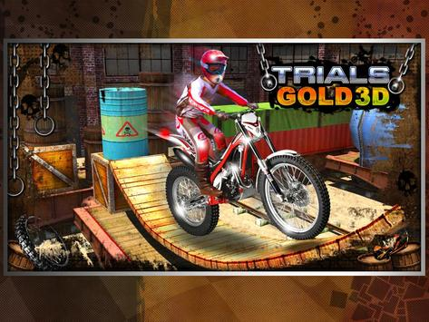 Trials Gold 3D poster