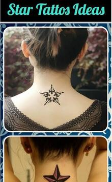 Star Tattoos Ideas poster