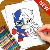 Learn to Draw the Avengers Characters icon