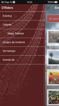 DRiders Eventos de Motos apk screenshot