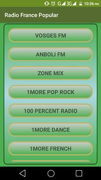 Radio France - Popular poster