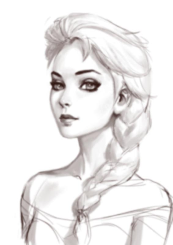 How To Draw Queen Elsa For Android Apk Download