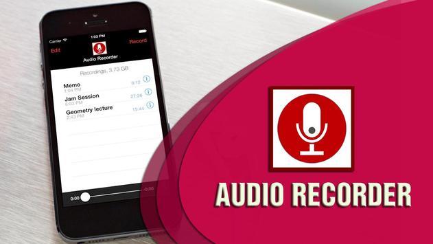 Audio Recorder poster