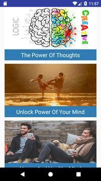 Mind Power: Motivation & Meditation poster
