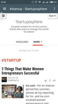 Startuposphere poster