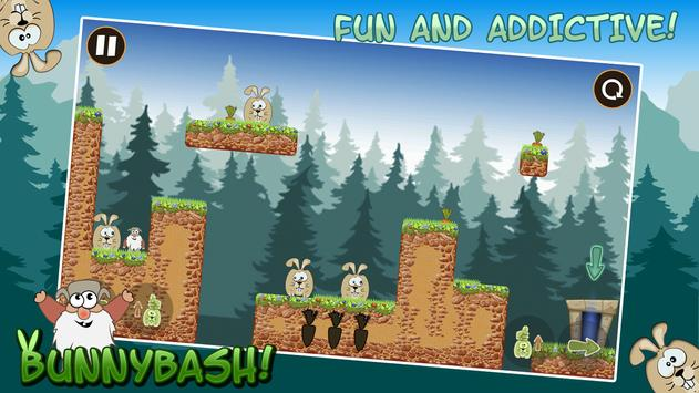 Bunny Bash Free apk screenshot