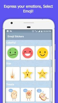 Cute Emoji Sticker Photo Editor screenshot 2