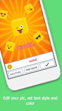 Cute Emoji Sticker Photo Editor screenshot 8