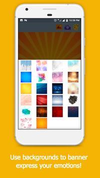 Cute Emoji Sticker Photo Editor screenshot 9