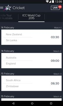 Star Sports LIVE Cricket apk screenshot
