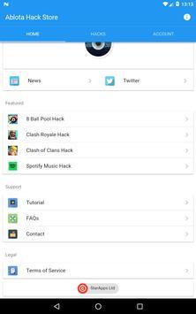 Ablota Hack Store Pro (Cydia) apk स्क्रीनशॉट