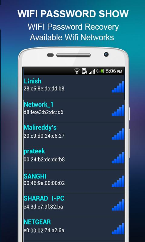 Wifi Password Show for Android - APK Download