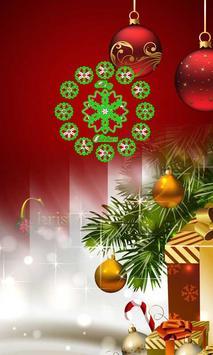 CHRISTMAS CLOCK WALLPAPER apk screenshot