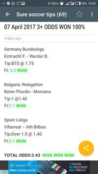 StarBET - Betting Tips apk screenshot