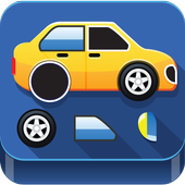 Puzzle Cars for kids icon
