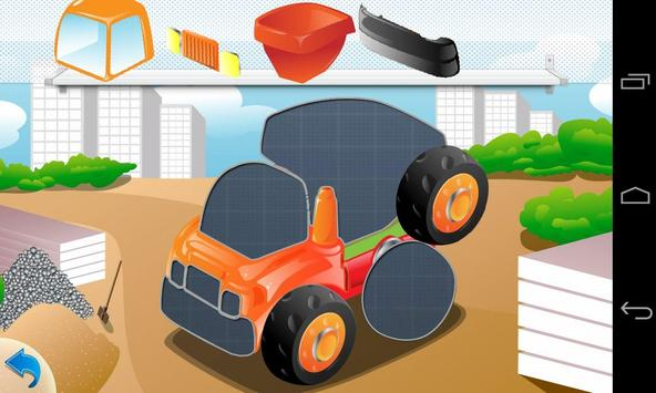 Puzzle Cars for kids poster