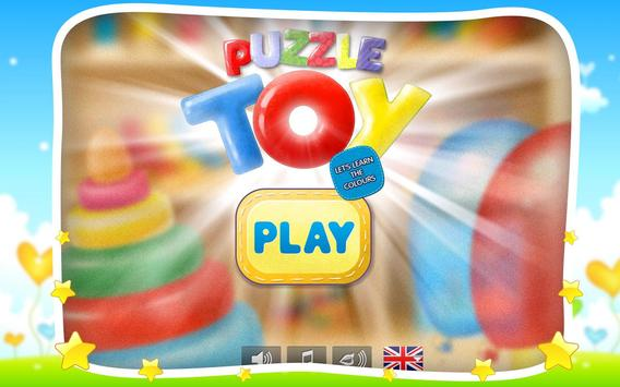 Puzzle Toy for kids poster