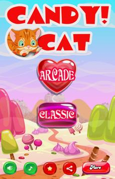 Candy Cat Match 3 poster